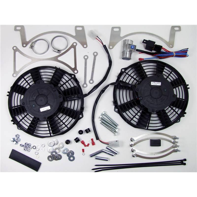 Electronic Cooling Fans : Revotec electronic cooling fan conversion kit mg