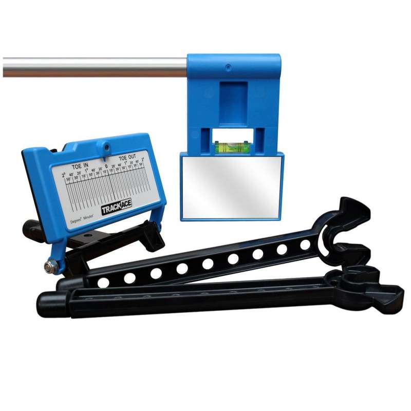 Trackace Laser Wheel Alignment Tracking Gauge Home Tool