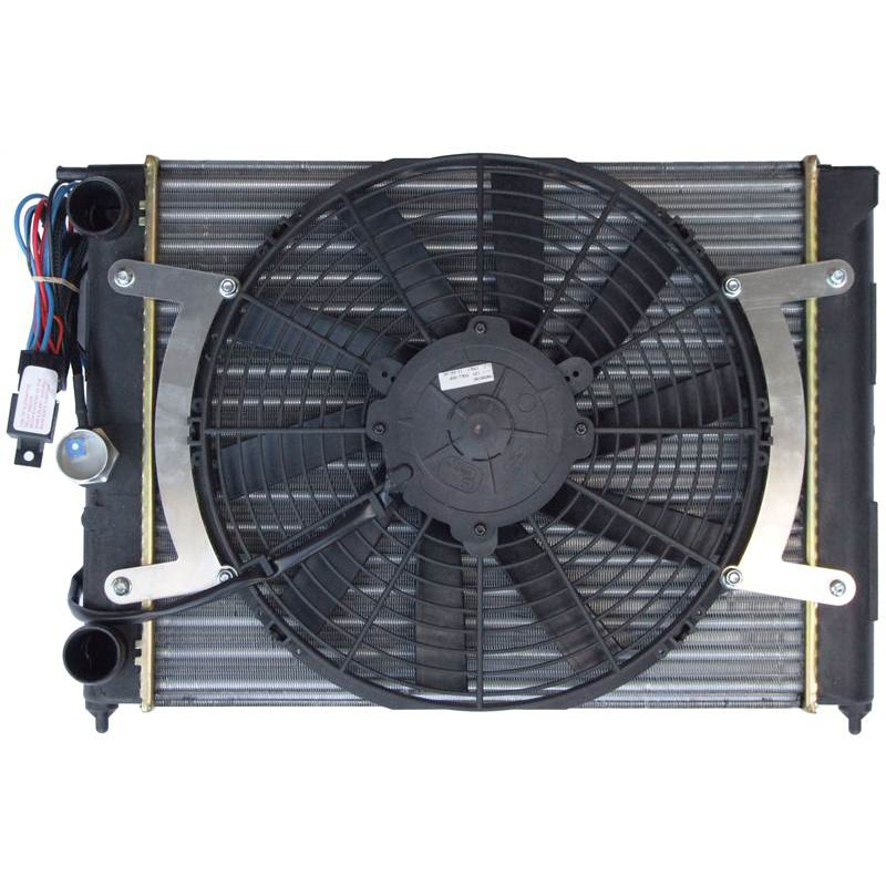 Electronic Cooling Fans : Revotec electronic cooling fan conversion kit vw