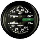 Racetech Oil Pressure / Water Temperature Combination Gauge