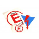 Lifeline Decal Pack Fire Extinguisher & Battery Cut Off Stickers