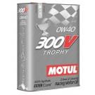 Motul 300V Trophy 0W40 Fully Synthetic Engine Oil  2 Litre