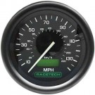 Racetech 80mm Speedometer Electronic 0-130 MPH