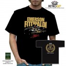Retro GP Emerson Fittipaldi Team Lotus T-Shirt