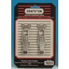 Grayston Large Toggle Fasteners, Pair