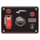 Longacre Flip-up Start / Ignition Panel With 1 x Accessory Switch & Pilot Light