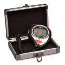 Longacre 100 Lap Memory Stopwatch With Silver Case