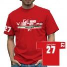 Retro Formula 1 Gilles Villeneuve 27 T-Shirt