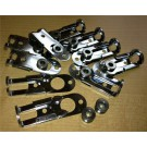 Grayston Slide Latches & Bushes Pk10 Lamp Pod / Panel Fastener Like Dzus