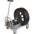 B-G Racing Mini Folding Pit Trolley
