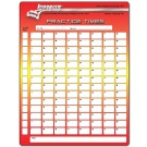 Longacre Lap Timing Sheets Pack Of 50