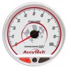 Longacre AccuTech SMi 'Stepper Motor' Memory Tachometer - Silver Face