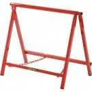 "BG Racing Large 18"" Red Chassis Stands (Pair) - Powder Coated"