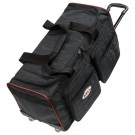 Bell Medium Trolley Travel Bag Black Quilted