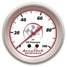 Longacre AccuTech Sportsman Oil Pressure Gauge