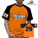Retro GP Arrows Warsteiner Contrast T-Shirt
