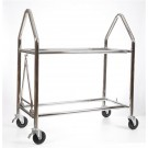 B-G Racing Stainless Steel Wheel & Tyre Trolley