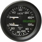 Racetech Oil Pressure / Temperature Combination Gauge
